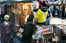 Shopping Frenzy at Beijing Zoo Market