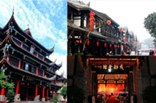 Exploring the Ancient Sites and Streets of Wenshu Temple and Beyond