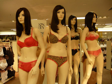 Curvy in Shanghai: Where to Buy Lingerie & Underwear