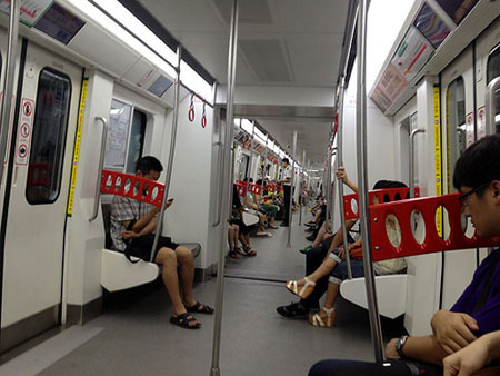 "Even Better Than the ""Rail"" Thing: Chongqing's Line 2 Sights"