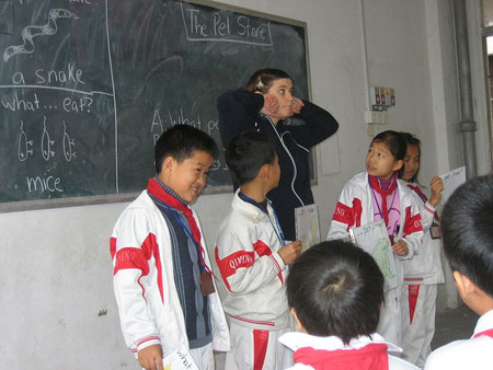 Foreign teachers in China