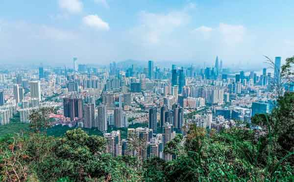 Foreigners living and working in Shenzhen