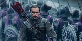 White-Washed Great Wall Movie Causes Controversy Online